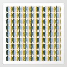Fe-feathers Art Print