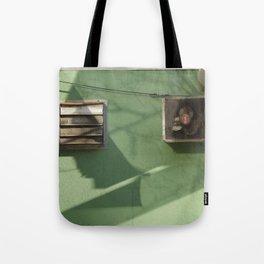 tribeca wall Tote Bag