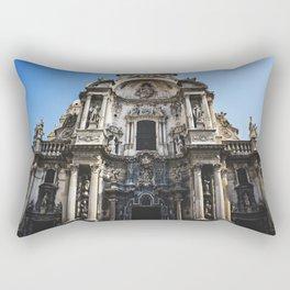 Clay saints Rectangular Pillow