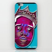 notorious iPhone & iPod Skins featuring Notorious  by illuzion