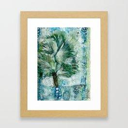 Ode to The Bismarck Palm Framed Art Print