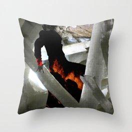 Carbon Amaya Throw Pillow