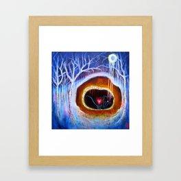 'Bear Dreaming' Framed Art Print