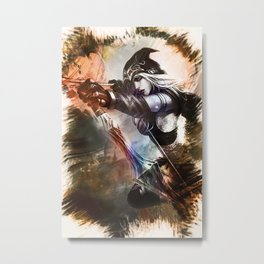 League of Legends ASHE Metal Print