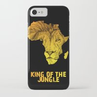 musa iPhone & iPod Cases featuring King Of The Jungle! by DeMoose_Art
