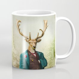 Lord Staghorne in the wood Coffee Mug