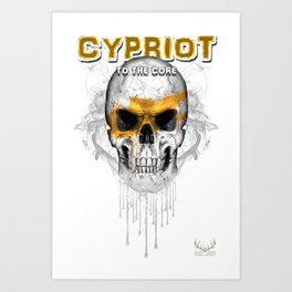 To The Core Collection: Cyprus Art Print