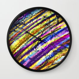 Mexican Memories - Multi-Color Wall Clock