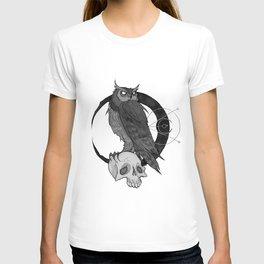 Inktober Owl T-shirt