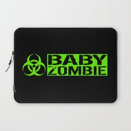 Baby Zombie: Biohazard Laptop Sleeve