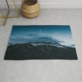 Moonshine - Landscape and Nature Photography Rug