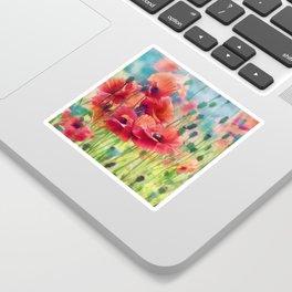 Poppy Parade Sticker