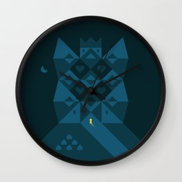 My home is my castle Wall Clock