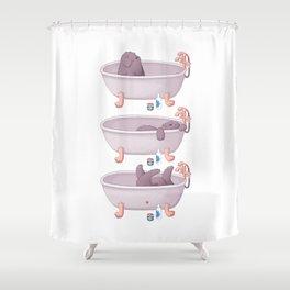 Tub Baby Shower Curtain