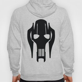 General Grievous Face Silhouette Hoody