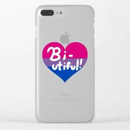 Bi-utiful! Clear iPhone Case
