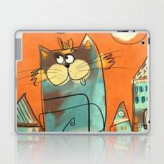 Retro Cat Laptop & iPad Skin