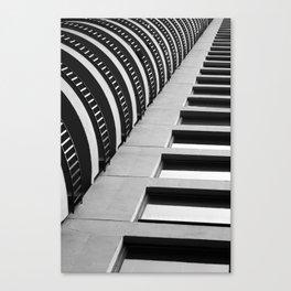 Concrete Structur Canvas Print