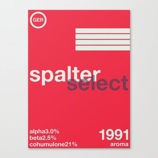 spalter select single hop Canvas Print