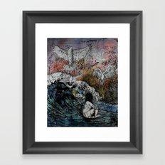 Feet of Crows Framed Art Print