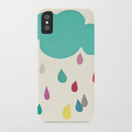 Sunshine and Showers iPhone Case