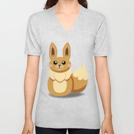 Evolution Bobbles - Eevee Unisex V-Neck