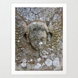 Stone Angel Art Print