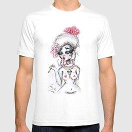 Rococo Goddess T-shirt