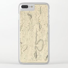 Microscopic Biology Clear iPhone Case