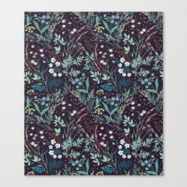Meadow pattern. Canvas Print