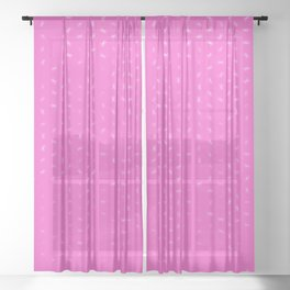 cancer zodiac sign pattern mag Sheer Curtain