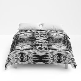 Freak Skull Pattern Comforters
