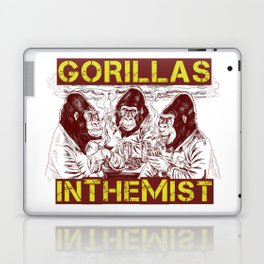 GORILLAS IN THE MIST Laptop & iPad Skin