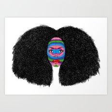 B-Mask Art Print
