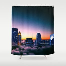Minneapolis Above the Clouds Shower Curtain