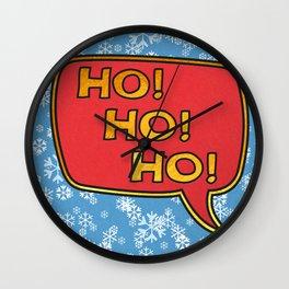 Ho! Ho! Ho! Wall Clock