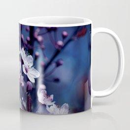 Magic Violet Apple Tree Blossoms Photography Coffee Mug