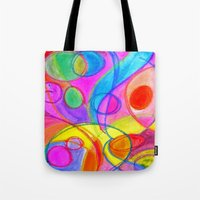 carnival Tote Bags featuring Carnival by Dion Dior
