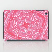 preppy iPad Cases featuring Preppy Flower by Brenna Whitton