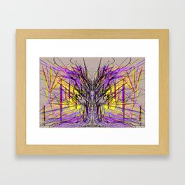 Intricacies of Perception Framed Art Print