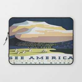 Vintage poster - Montana Laptop Sleeve