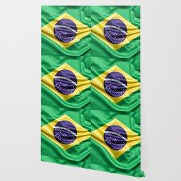 Flag of Brazil Wallpaper