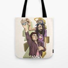 you love jesus-Jesus love's crack Tote Bag