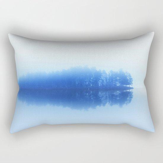 Foggy Reflections Rectangular Pillow
