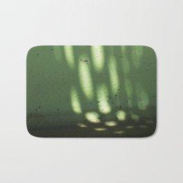 Green Light Spots Bath Mat