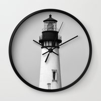 lighthouse Wall Clocks featuring lighthouse... by belkat