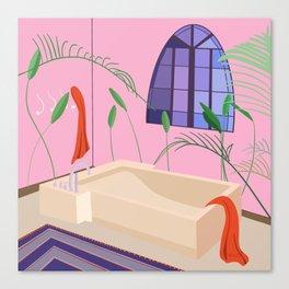 Bathed Canvas Print