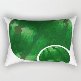 Double Watermelon Tet Holiday Vietnam Lunar New Year Rectangular Pillow