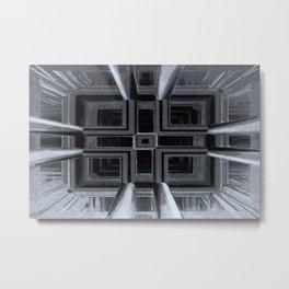 up or down - optical illusion Metal Print