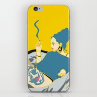 smoking iPhone & iPod Skins featuring Smoking by YTRKMR